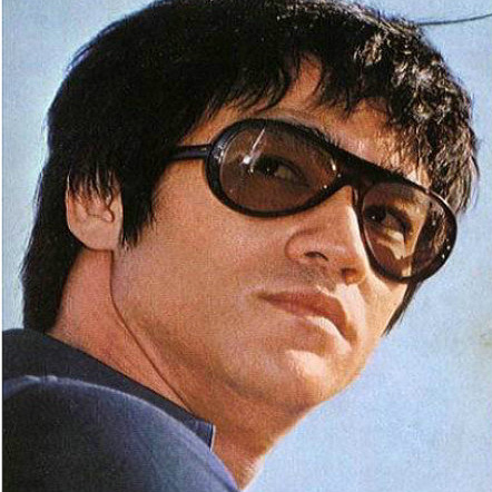 Bruce Lee with Persol Lentes Vintage Mexico